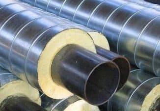 утепленные водопроводные трубы