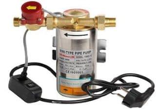 насос для подкачки воды в систему отопления