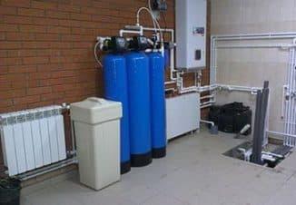 проточные фильтры для очистки воды
