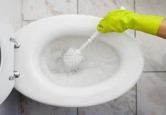 как очистить известковый налет