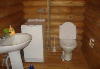 для дачного туалета
