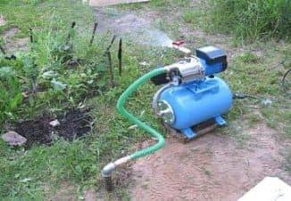 водяная станция для дачи схема подключения