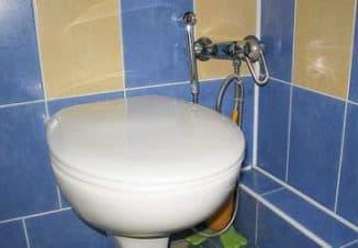 Гигиенический смеситель для унитаза